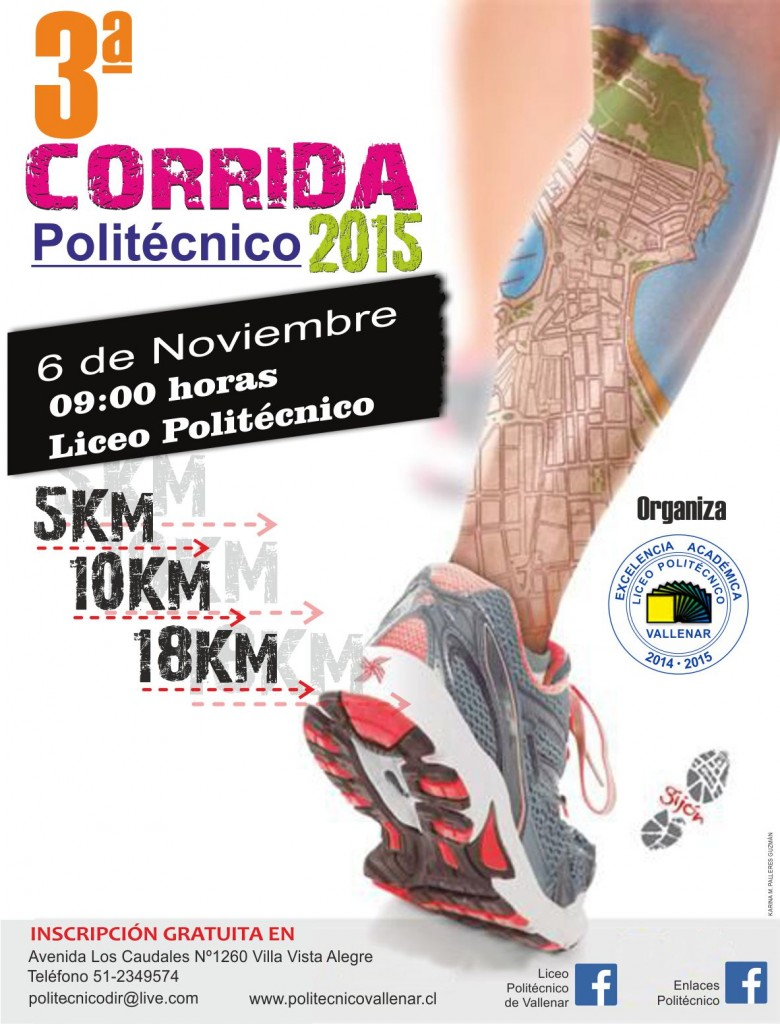 3º CORRIDA LICEO POLITÉCNICO